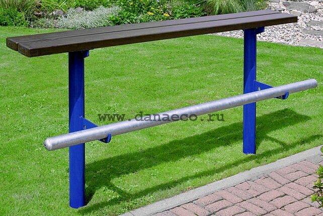 Сделать уличную скамейку